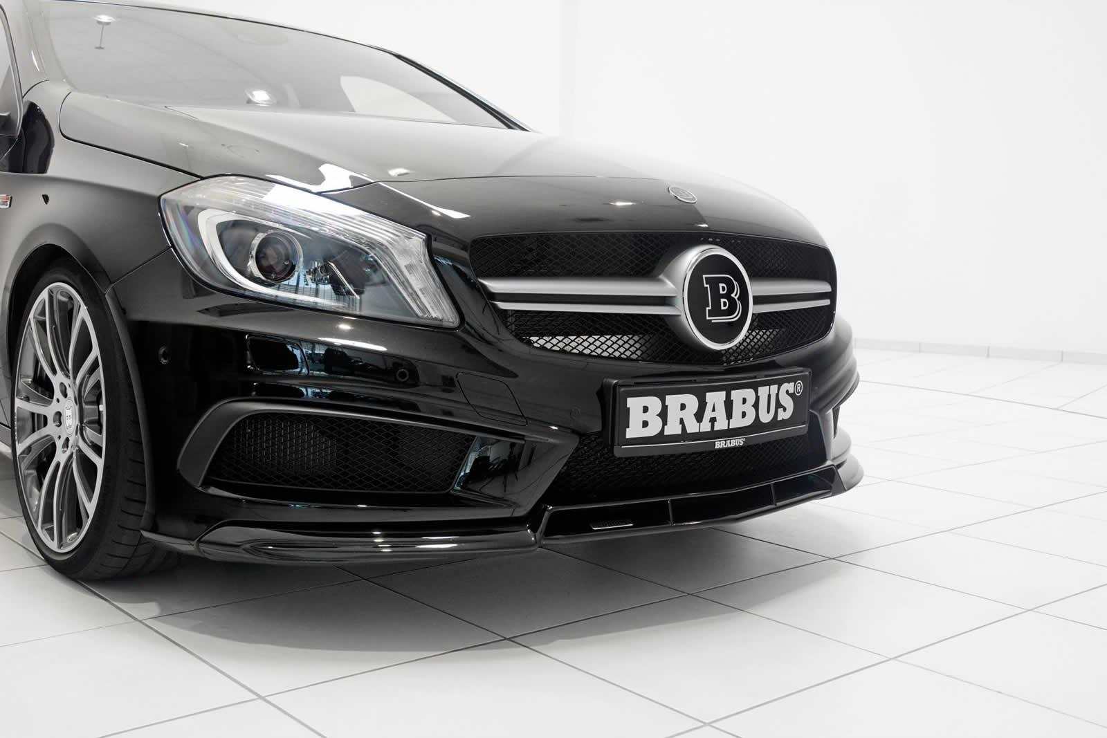 brabus donne la a45 amg quelques chevaux de plus. Black Bedroom Furniture Sets. Home Design Ideas