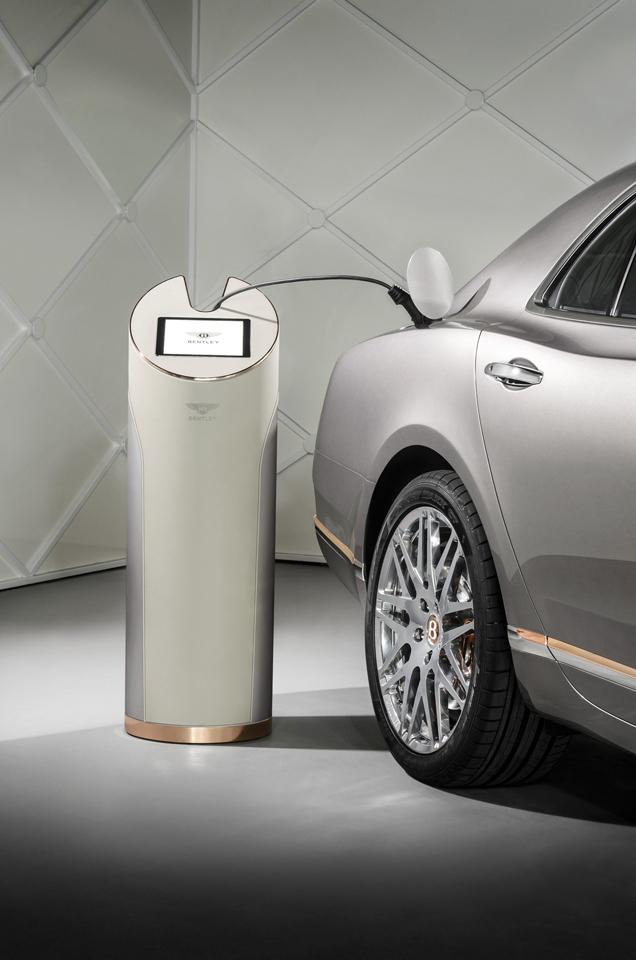 Bentley denkt groen met de Hybrid Concept