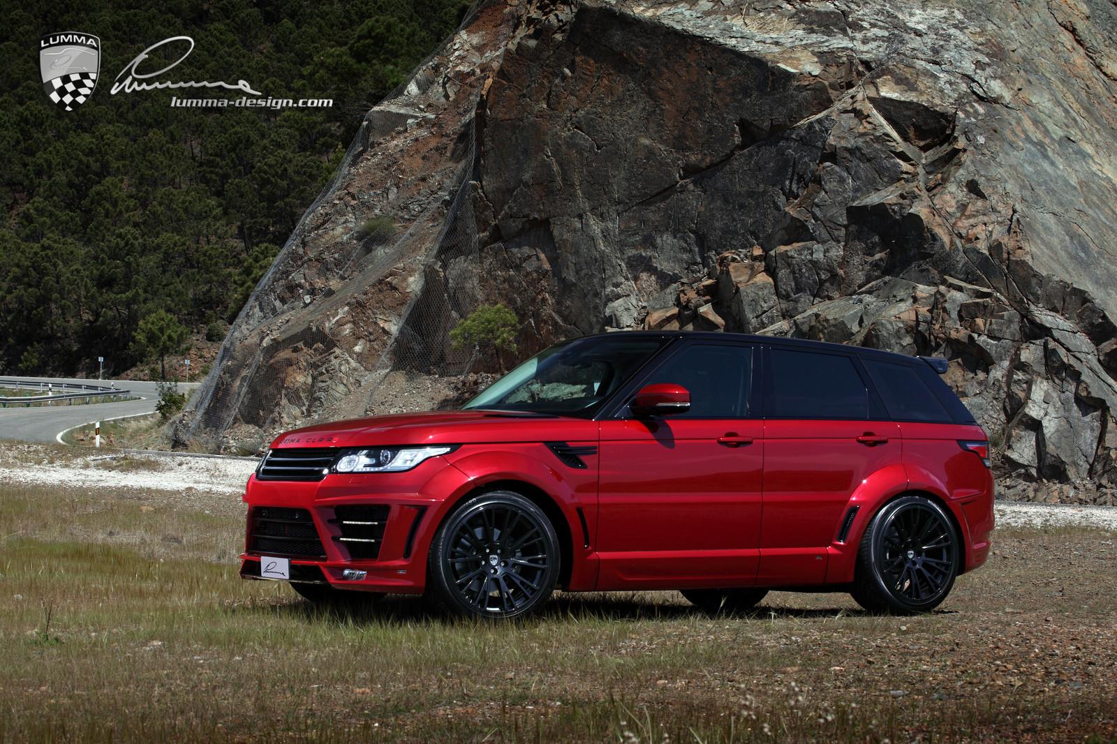 Very Brutal Lumma Range Rover Sport Clr Rs