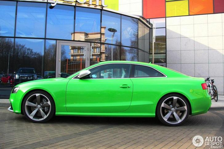 Do You Like The Audi Rs5 This Green