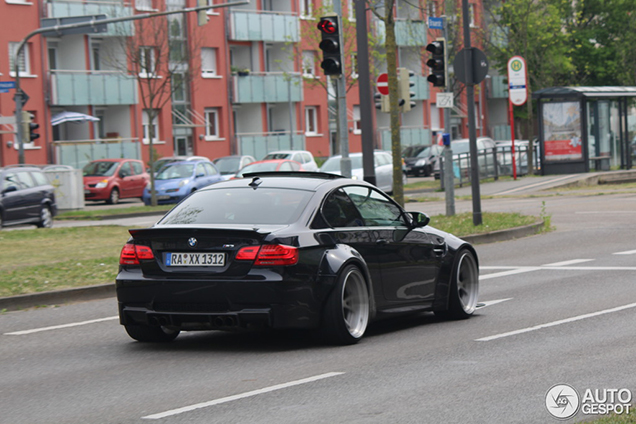 Very Wide Bmw M3 Coupe With Liberty Walk Bodykit