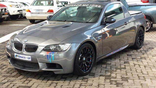 BMW M3 pick-up spotted in South-Africa