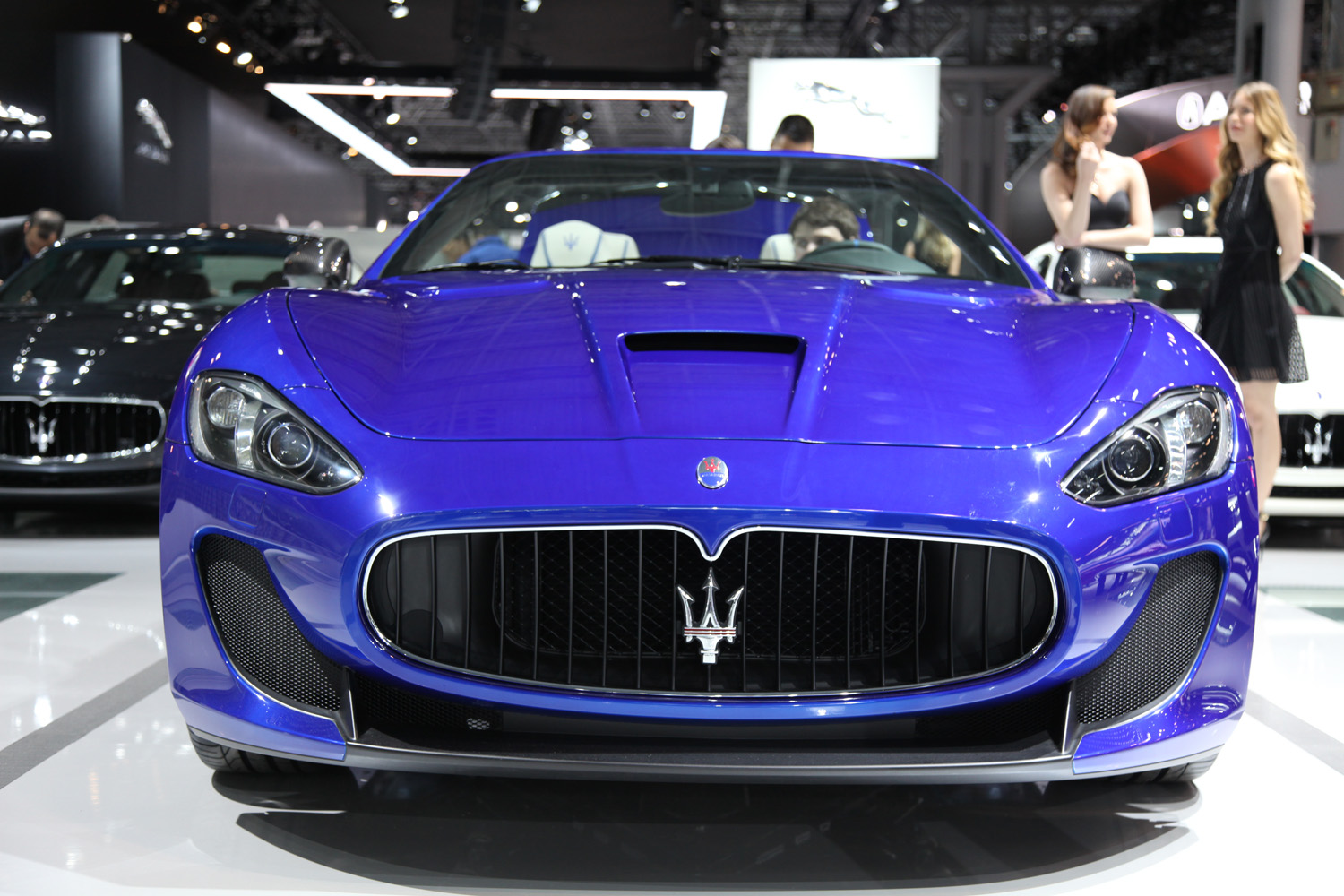 new york 2014 maserati granturismo mc centennial edition. Black Bedroom Furniture Sets. Home Design Ideas