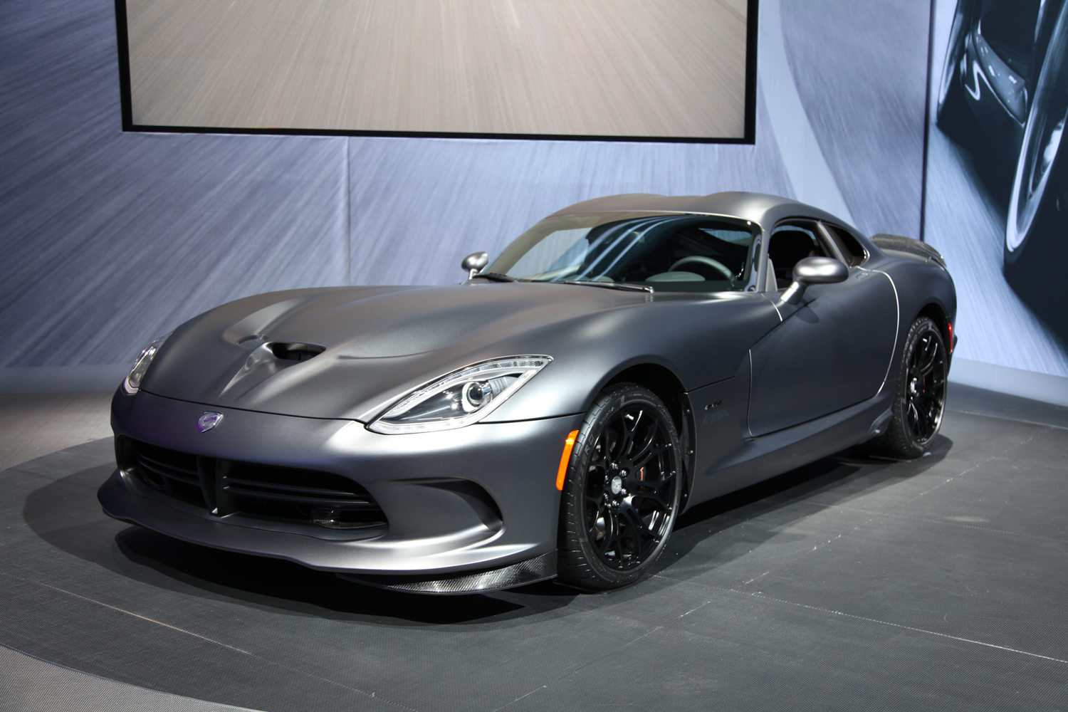 New York 2014 Srt Viper Time Attack Anodized Carbon