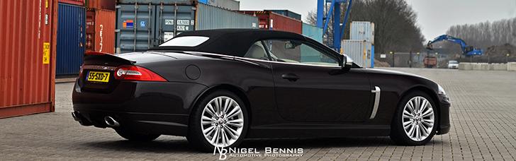 Ngoại Cảnh: Jaguar XK Convertible Portfolio
