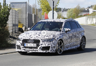 Will the Audi RS3 get a four-cylinder engine?