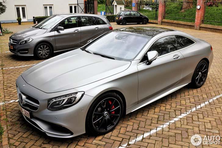 Spot van de dag: Mercedes-Benz S 63 AMG Coupe C217