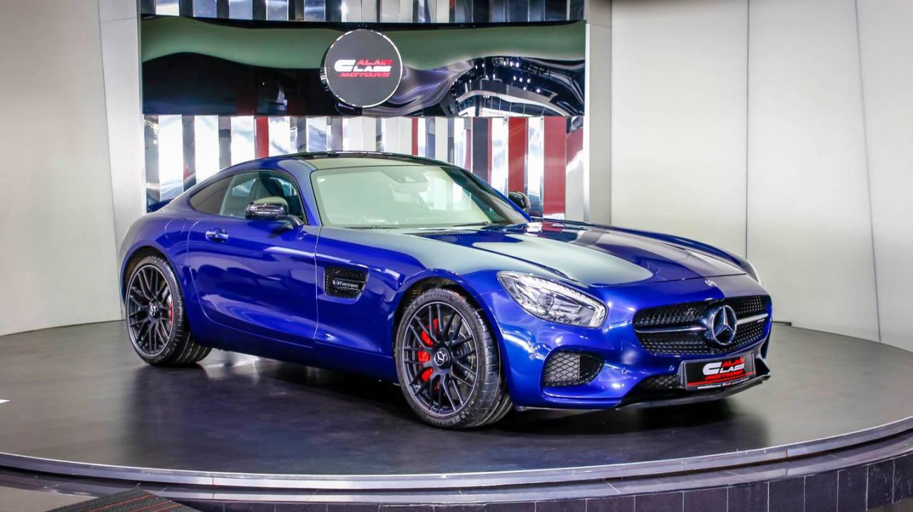 Al Ain Class Motors Receives A Beautiful Amg Gt