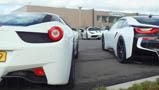 Supercarmeeting voor premiere Fast & Furious 7