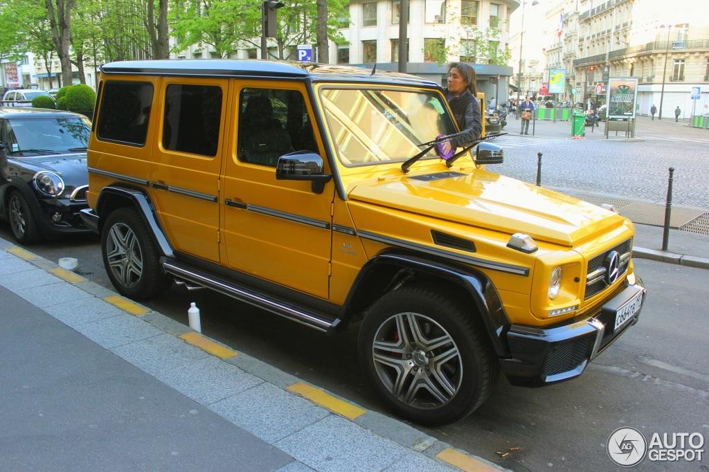 Mercedes G Kle Crazy Color Imponeert Op Straat