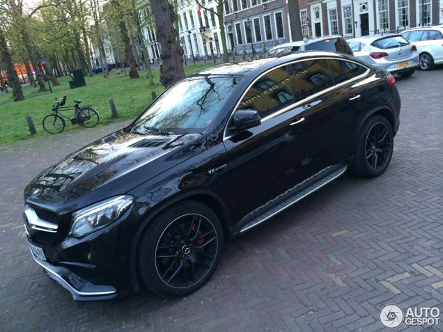 Glas Den Haag.Mercedes Amg Gle 63 Coupe Doet Dik In Den Haag