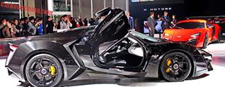 W Motors Lykan HyperSport serieus duur voor Chinese markt