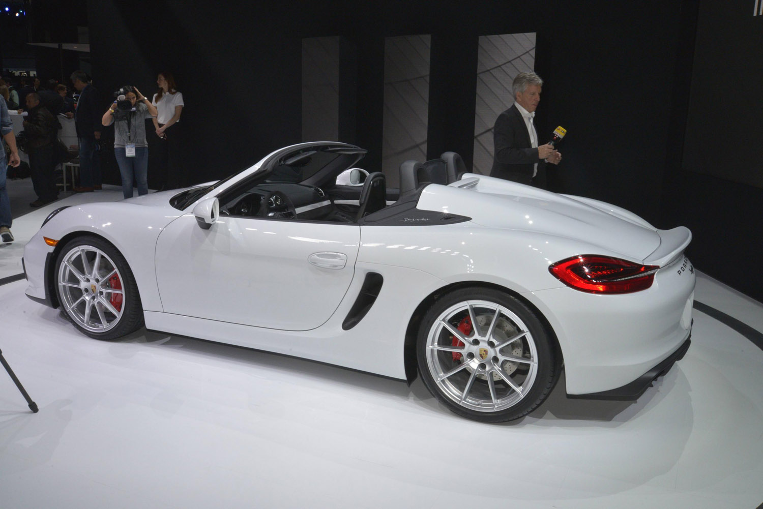 new york 2015 porsche boxster spyder. Black Bedroom Furniture Sets. Home Design Ideas
