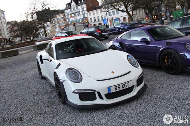 Porsche 991 GT3 RS duo valt op