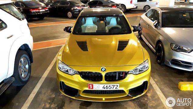 BMW M3 F80 met hele dikke samenstelling gespot