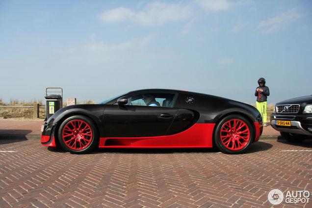 Spot van de dag: Bugatti Veyron Super Sport is in het land!