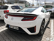 Spotted: Acura NSX 2016