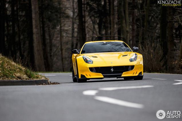 Ferrari F12tdf heerlijk krachtig vastgelegd