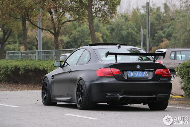 Heerlijke BMW M3 Coupé gespot in Shanghai