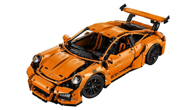 Lego Technic pocht met Porsche 991 GT3 RS