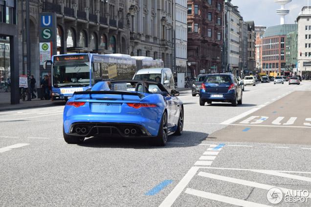 Gespot: Jaguar's blauwe schoonheid