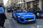 Une beauté bleue spottée - Jaguar F-Type Project 7