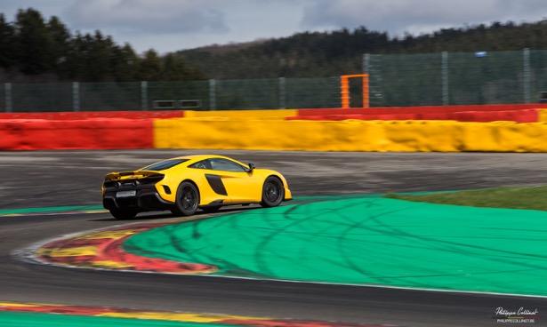 Event: Pure McLaren op Spa-Francorchamps