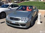 Topspot: Mercedes CLK DTM AMG Cabriolet in sunny Monaco
