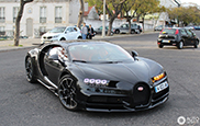 Black on black Bugatti Chiron looks like Heaven on Earth