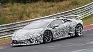 Lamborghini Huracán Performante Spyder caught on the Ring
