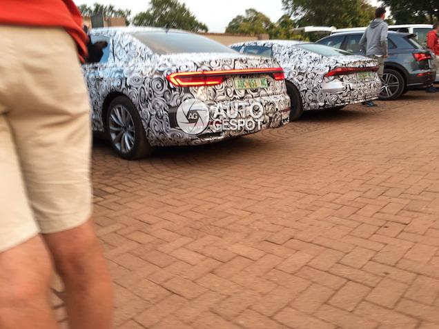 Nieuwe Audi A8 en A7 krijgen verrassende lichtunits
