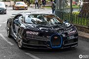 Topspot: Bugatti Chiron in Monaco