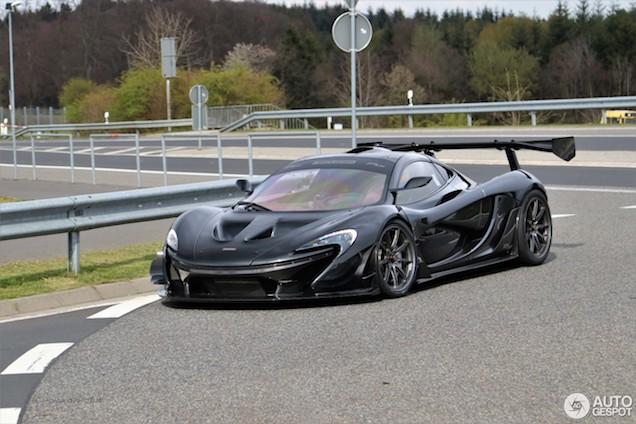 mclaren p1 lm continues to impress on the nürburgring
