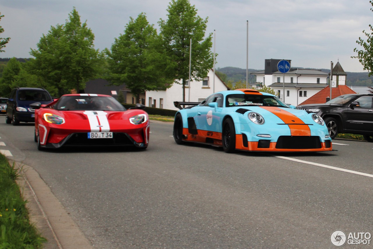 Porsche 9ff GT9 CS staat nu op eigen benen