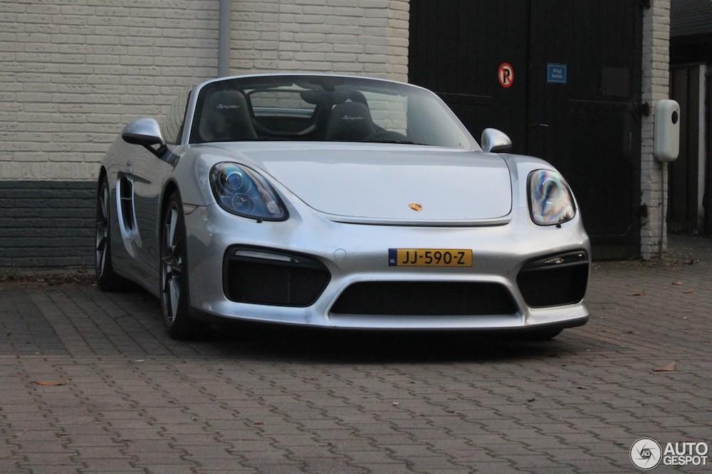 Ultiem voor de zomer: Porsche Boxster Spyder (981)