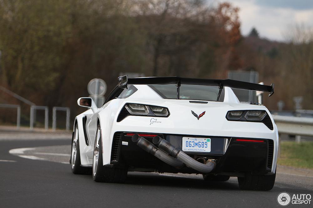 Corvette is ook aan het testen met de nieuwe C7 ZR1