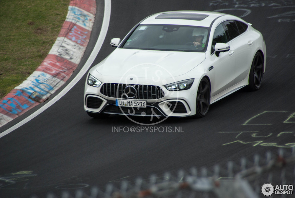 Mercedes-AMG GT 63 (S) draait warm op de Ring