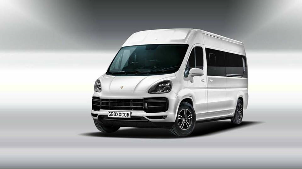 News: Porsche's new delivery van, the Muscan