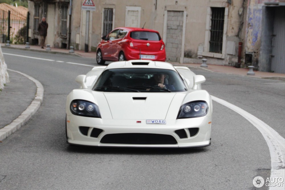 Spotted: Saleen S7 Twin Turbo in picturesque France
