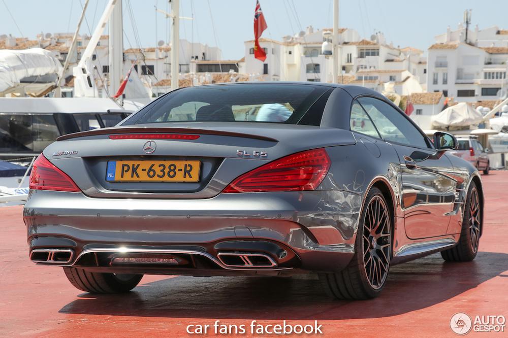 De stekker gaat eruit voor de Mercedes-AMG SL 65