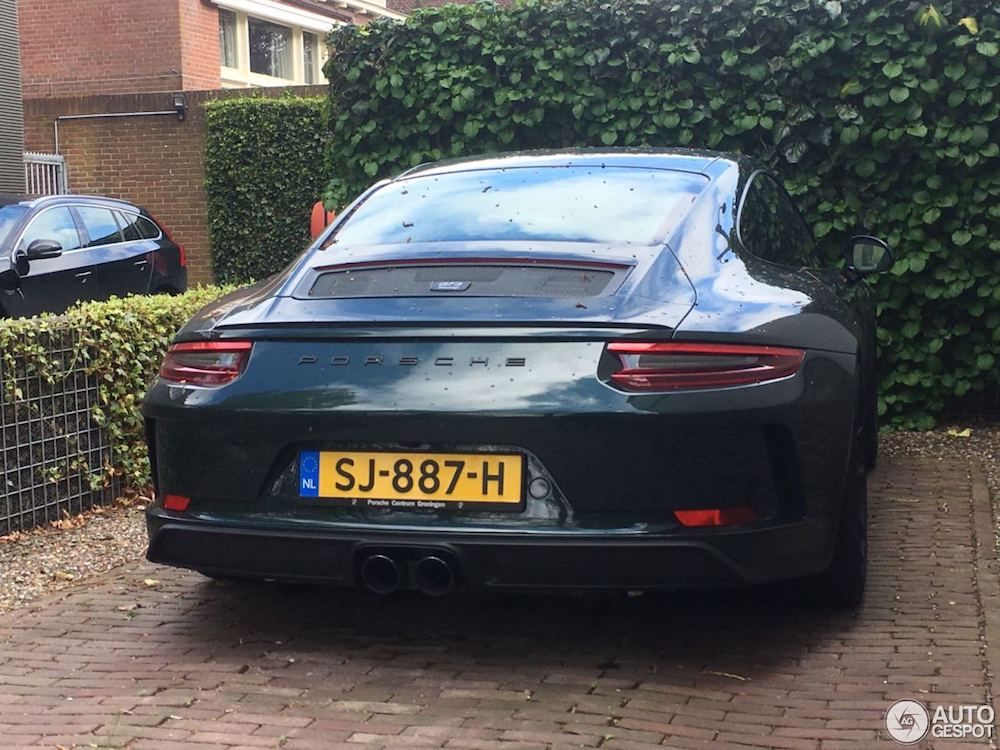Spot van de dag: Porsche 991 GT3 Touring