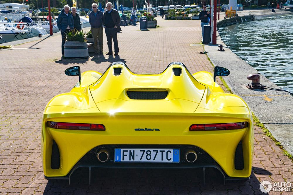 Top spot: Dallara Stradale