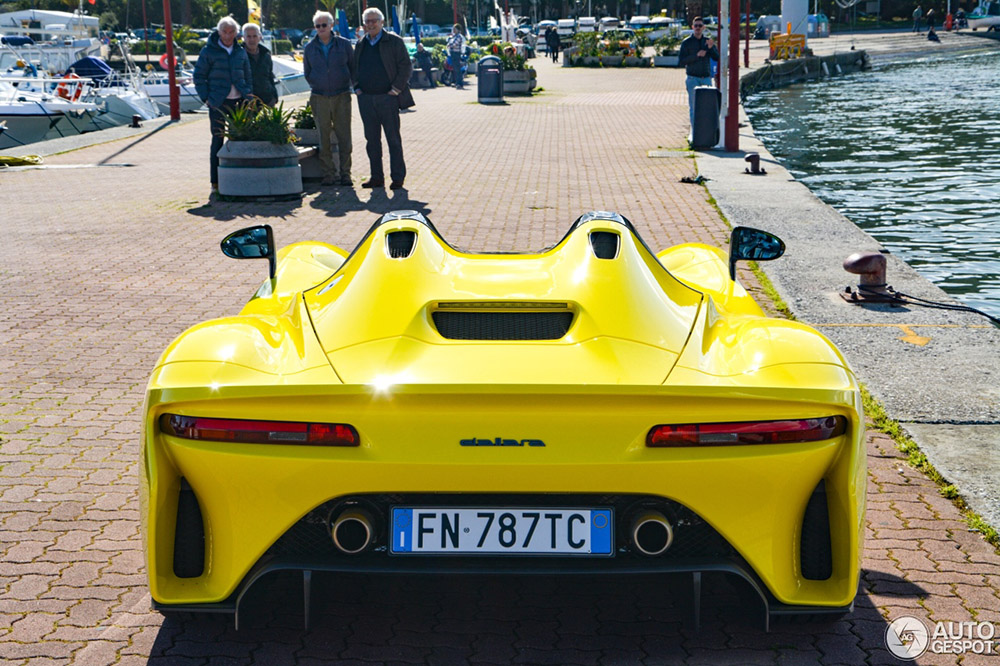 Top spot: Dallara Stradale