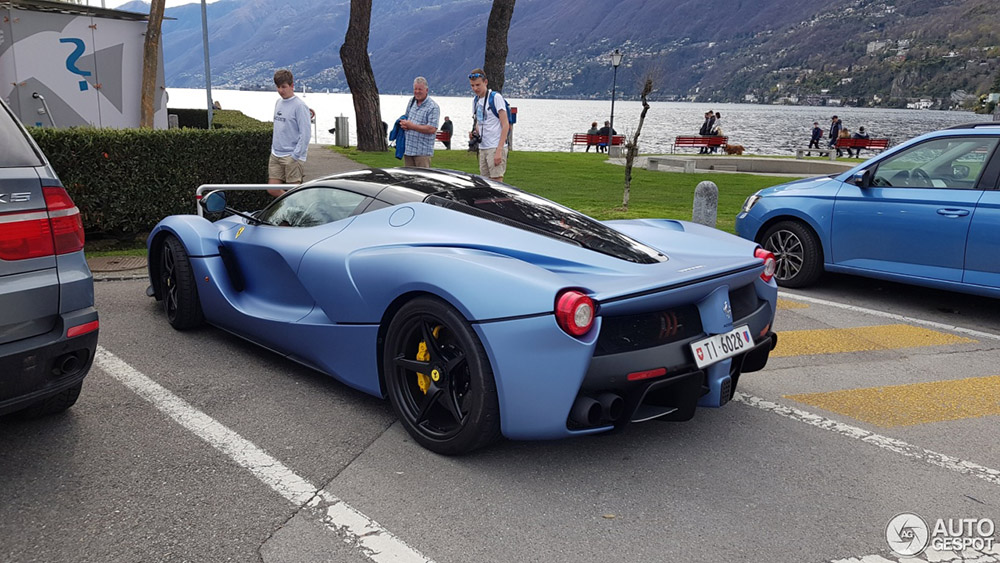 Tijdelijk nieuw kleurtje voor deze Ferrari LaFerrari