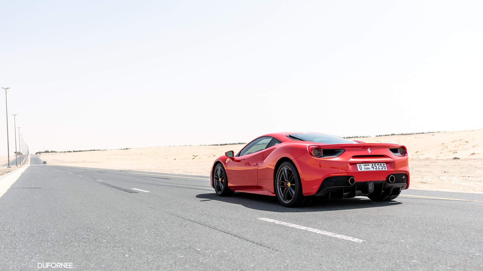 Special: cruising through Dubai in a Ferrari 488 GTB