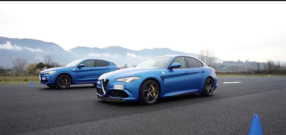 Filmpje: welke Alfa Romeo Quadrifoglio wint hier de dragrace?