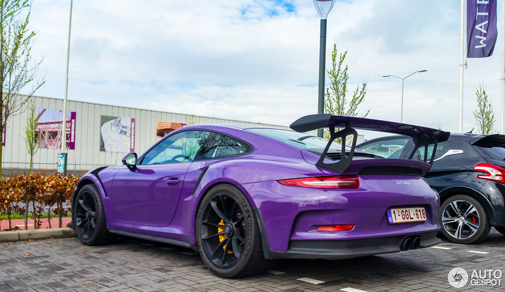 Spot van de dag: Porsche 991 GT3 RS