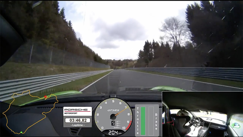 Movie: Porsche 991 GT3 RS tearing up the Nürburgring