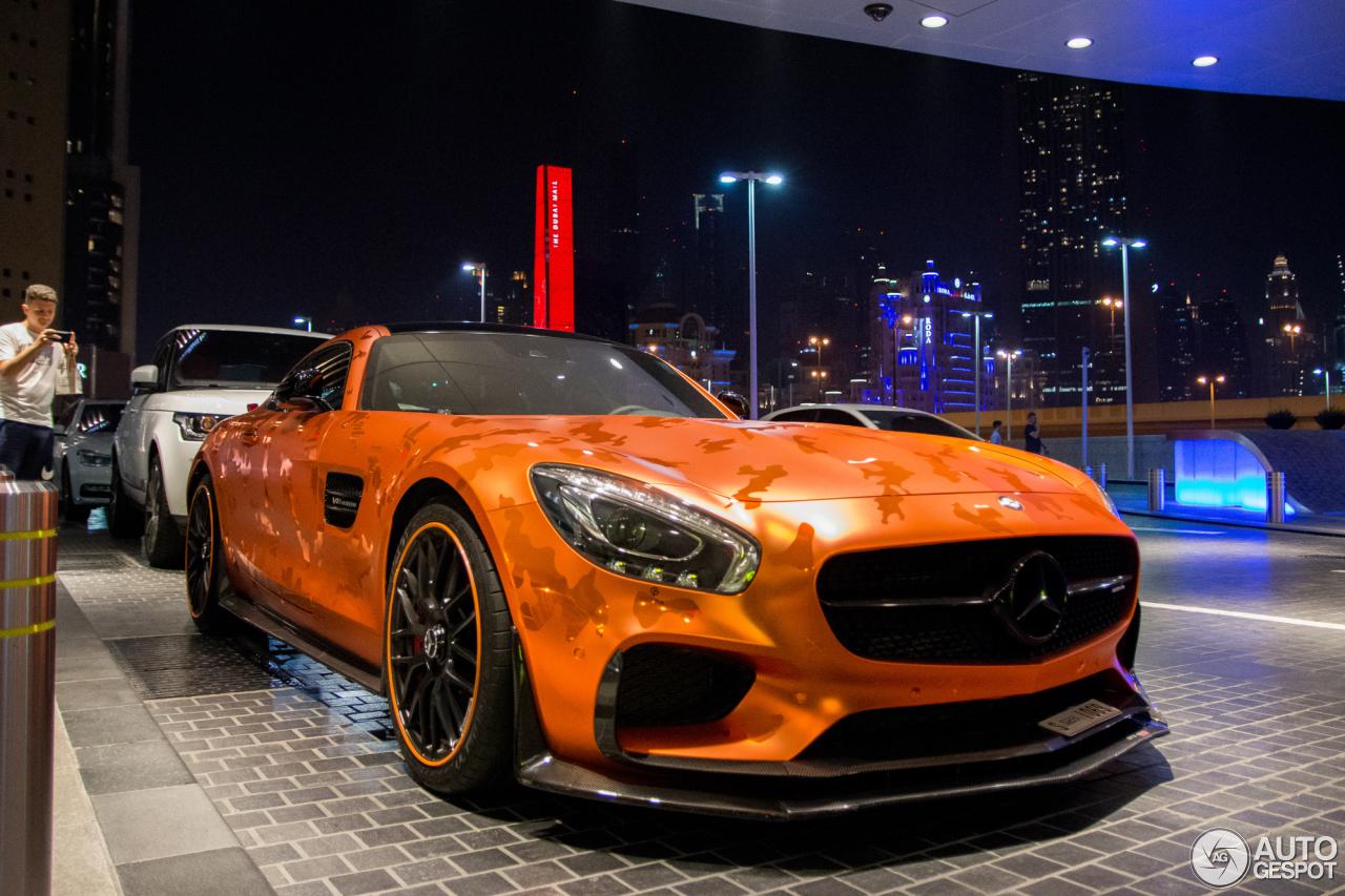 RevoZport maakt de Mercedes-AMG GT erg dik