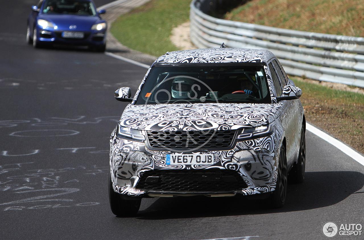 Range Rover is de Velar SVR aan het afronden